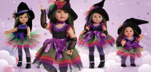 muñecas Paola Reina Brujitas Brujas