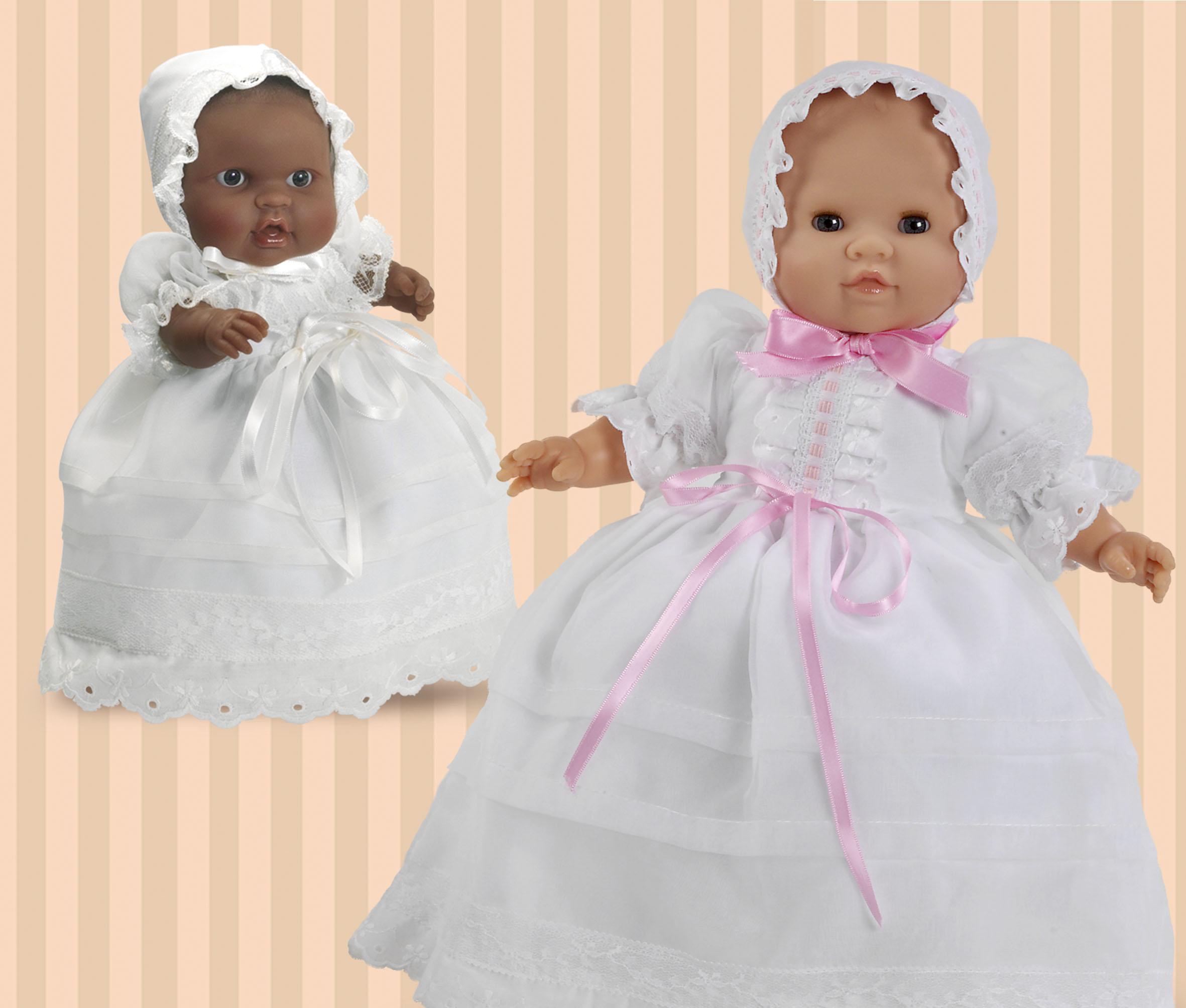 Muñecos bebés, recién nacidos y con faldón. | Paola Reina